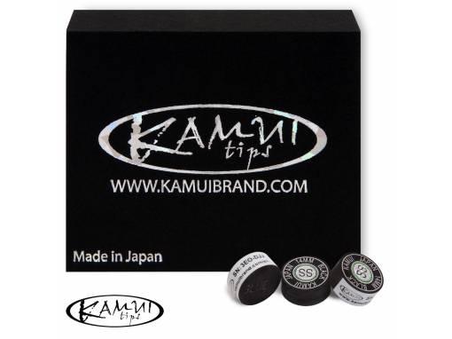 Наклейка для кия Kamui Black D14мм Super Soft 1шт (2681) фото 1