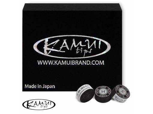Наклейка для кия Kamui Black 14мм Hard 1шт (2683) фото 1